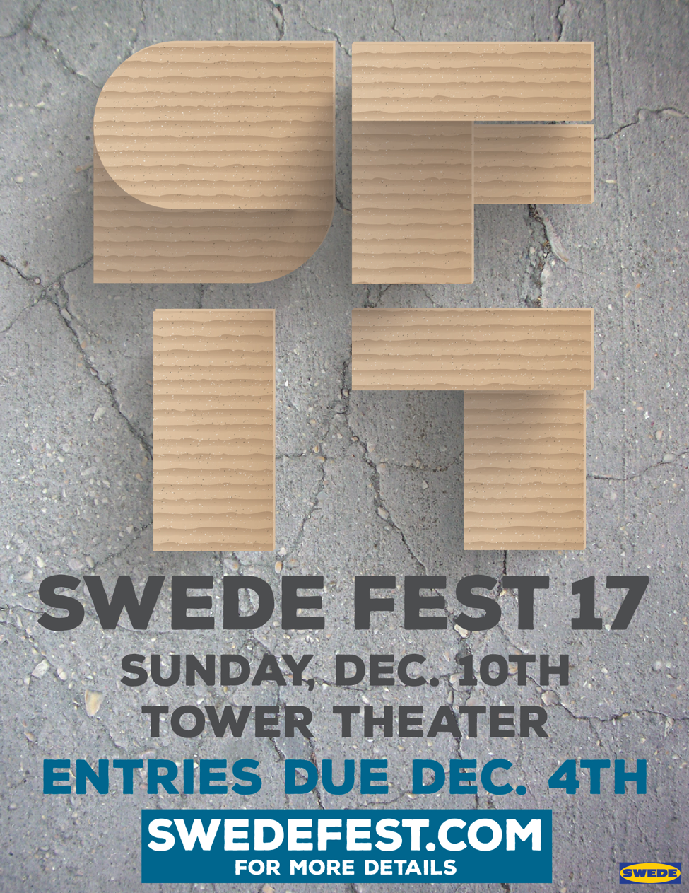 Call for entries for Swede Fest 17, festival set for December 10